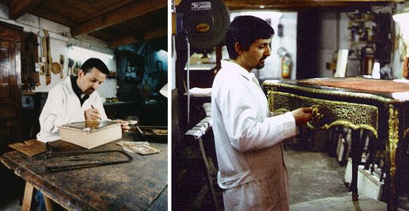 Renato Olivastri restauro a Firenze
