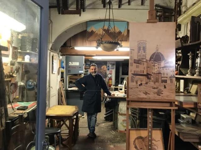Olivastri Restauri Firenze - Intarsio – Boulle – Dipinti su tavola – Restauro Mobili